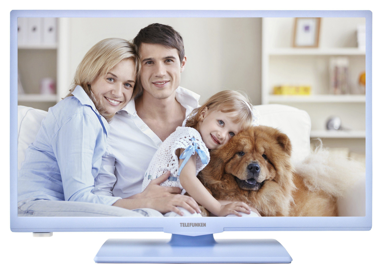 Telefunken LED-Fernseher (24 Zoll, HD-Ready, Triple-Tuner) »XH24A100 blau«