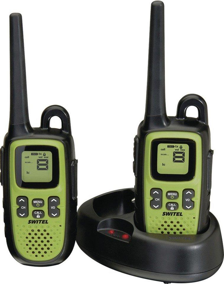Switel Spritzwassergeschützte PMR-Funkgeräte »WTF735« in schwarz