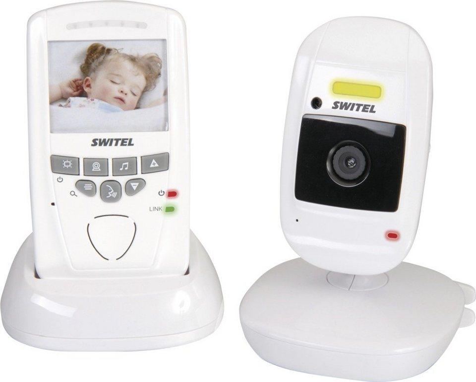 Switel Babyfon mit Geräuschüberwachung und Kamera »BCF 857« in weiß