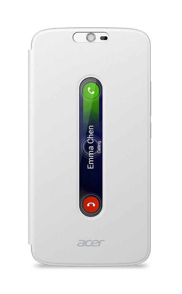 ACER Smartphoneschutzhülle »Flip Cover passend für Liquid Zest Plus« in weiß