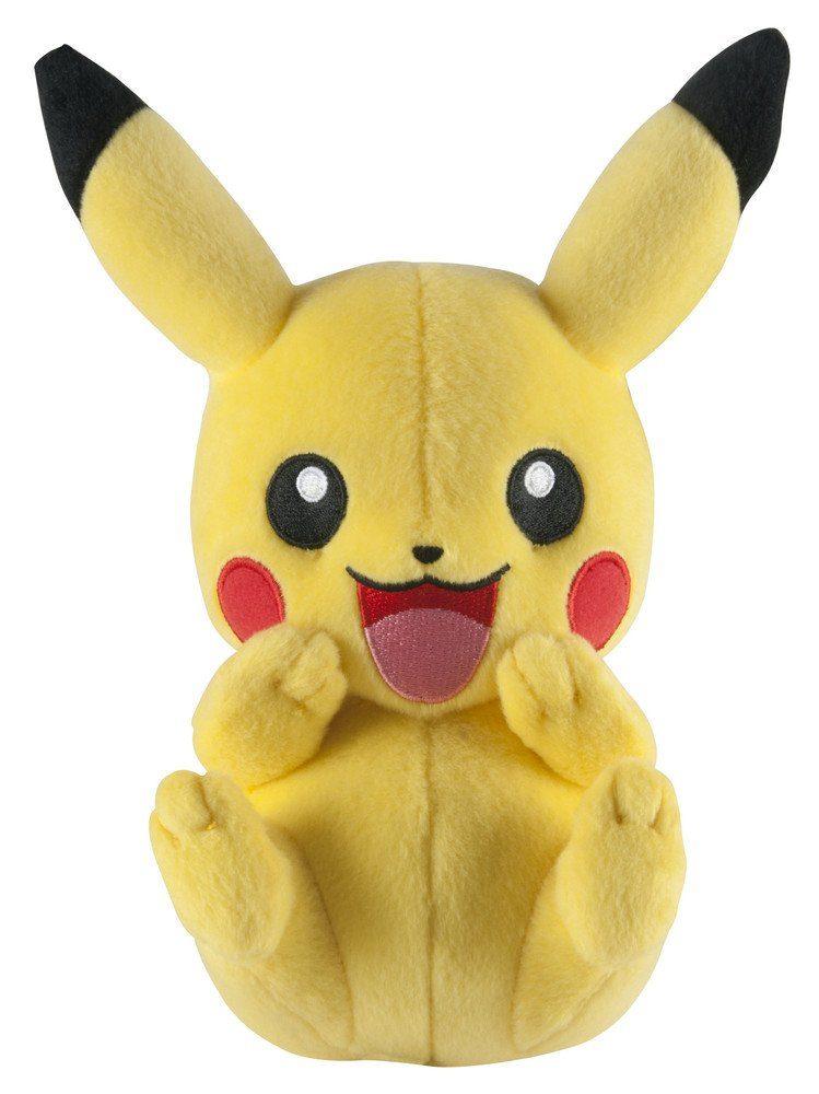 Tomy Fanartikel »Pokemon Pikachu Plüsch (20 cm) lachend«