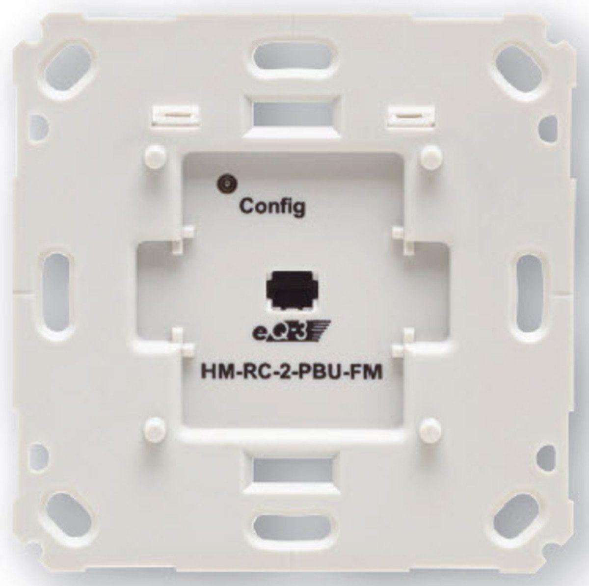 HomeMatic Smart Home Zubehör »Funk-Sender 2-fach für Markenschalter«
