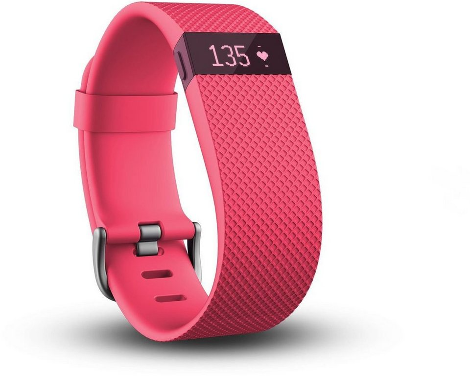 fitbit Activity Tracker »CHARGE HR (L)« in Pink