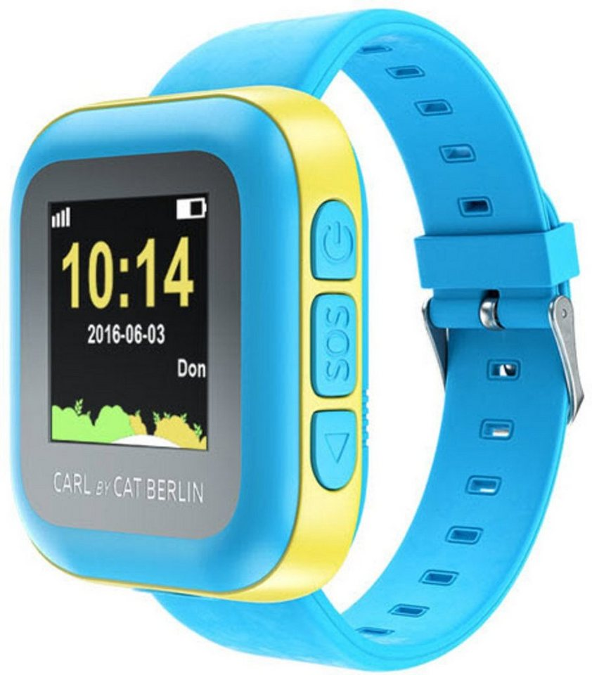 Cat Sound Smartwatch »Carl Kids - Kids Watch« in Hellblau