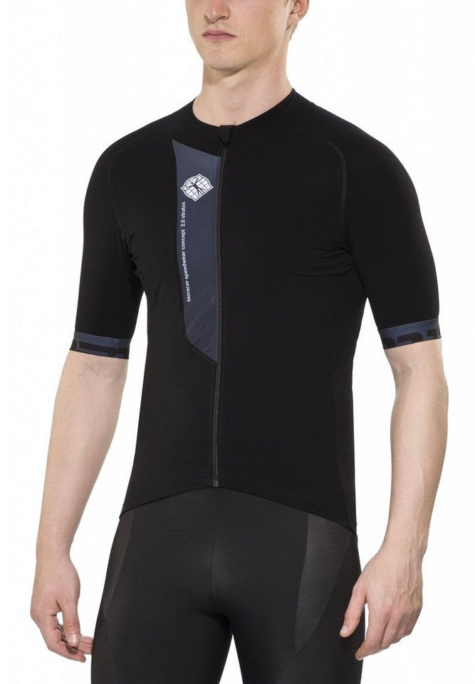 Bioracer Radtrikot »Stratos 2.0 Short Sleeve Jersey Men« in schwarz
