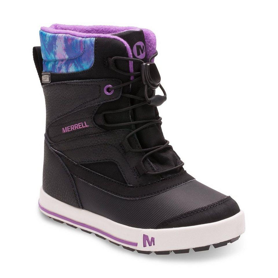 Merrell Stiefel »Snow Bank 2.0 Waterproof Boots Children« in schwarz