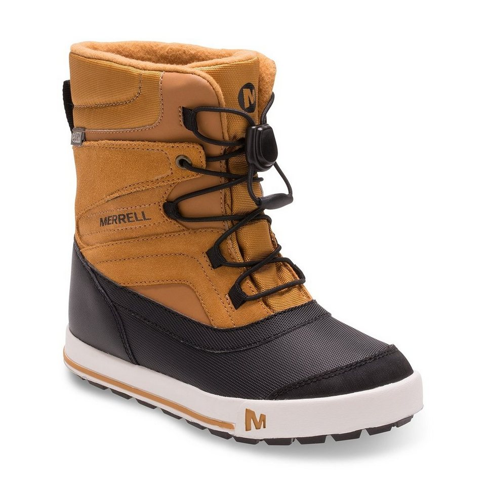 Merrell Stiefel »Snow Bank 2.0 Waterproof Boots Youth« in braun