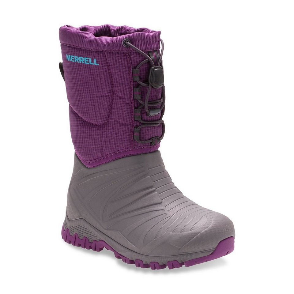 Merrell Stiefel »Snow Quest Lite Waterproof Boots Children« in pink