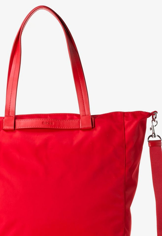 BREE Shopper »Barcelona NYLON 11« in rouge