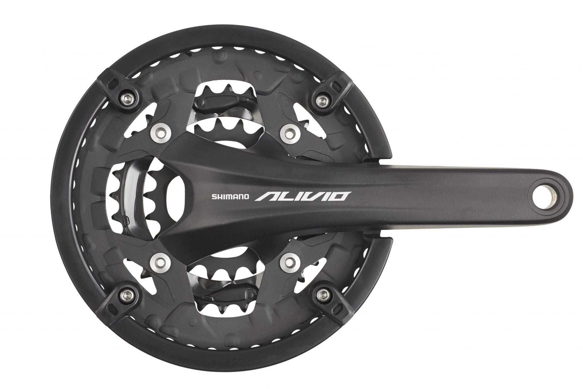 Shimano Kurbel »Alivio FC-T4060 Kurbelgarnitur 44/32/22«