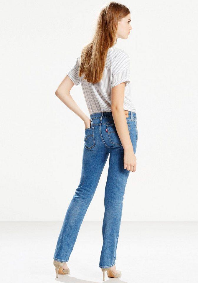Levi's® 5-Pocket-Jeans »LEVI'S® 714 Straight« in light-blue