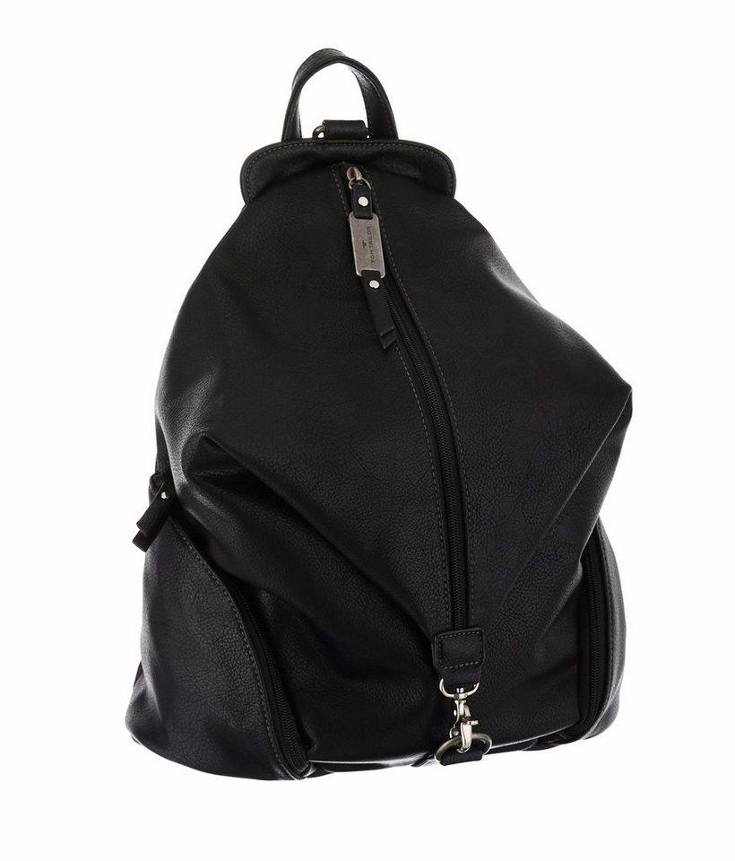 Tom Tailor Cityrucksack »AYDA« in schwarz