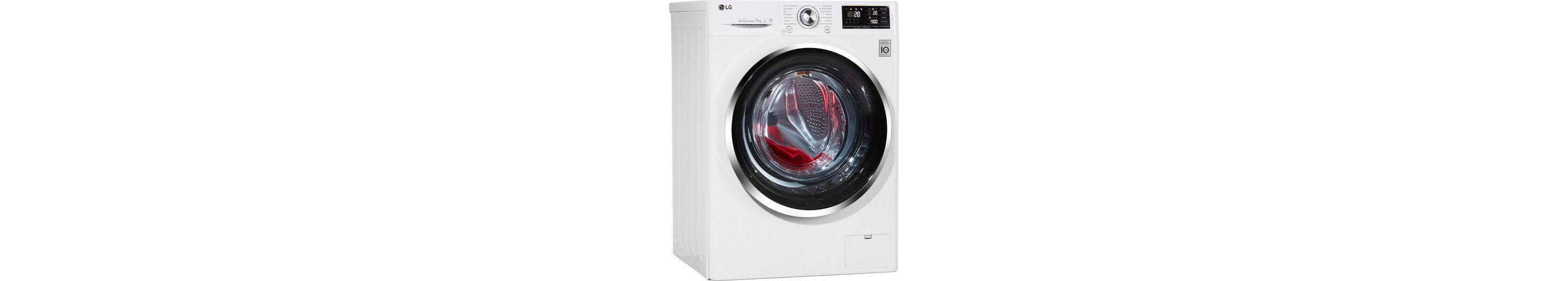 LG Waschmaschine F 14U2 QCN2H, A+++, 7 kg, 1400 U/Min