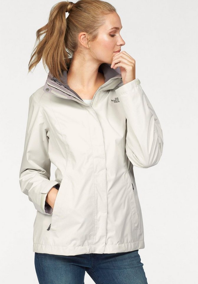 The North Face 3-in-1-Funktionsjacke »EVOVLE II TRICLIMATE« inkl. Fleecejacke in offwhite-flieder