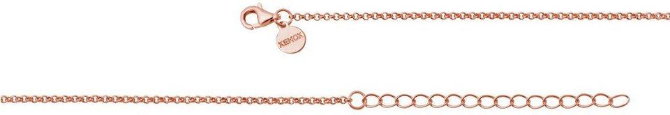 XENOX Silberkette »XK500R/45« in Silber 925-roségoldfarben