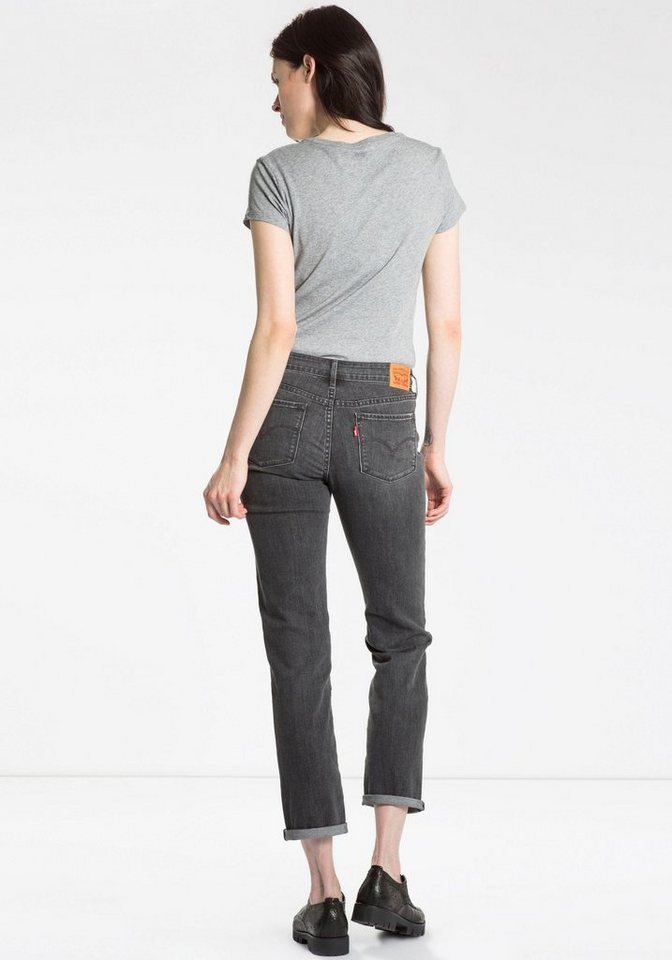 Levi's® 5-Pocket-Jeans in grey-used
