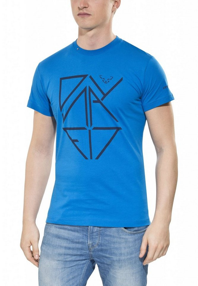 Dynafit T-Shirt »First Track Co Men S/S Tee« in blau