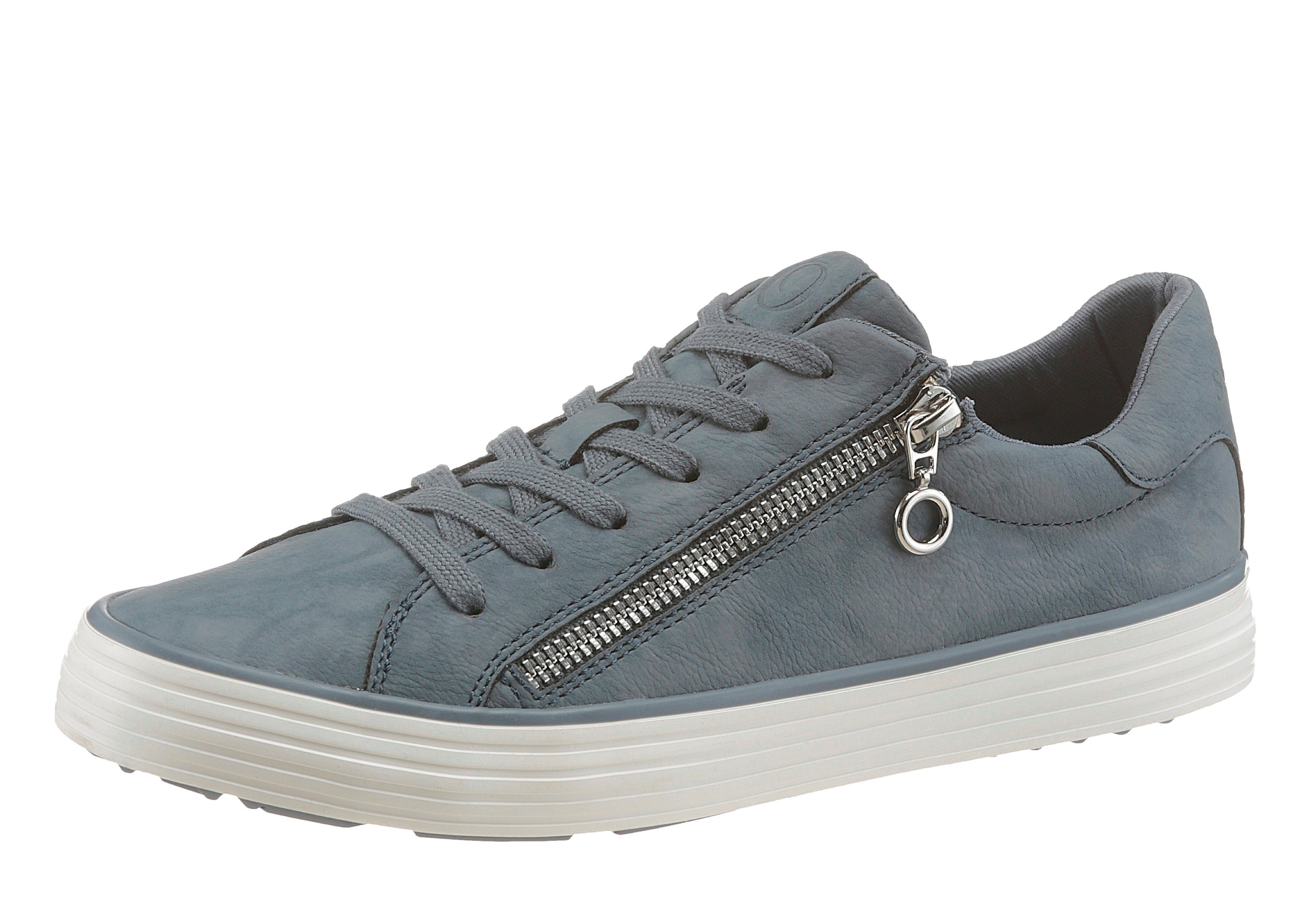 s.Oliver RED LABEL Sneaker, mit Soft-Foam-Ausstattung, weiß, weiß