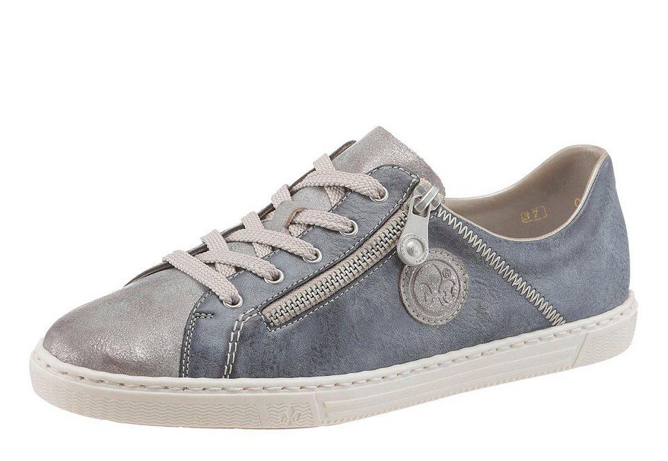 Rieker Sneaker in blau-grau