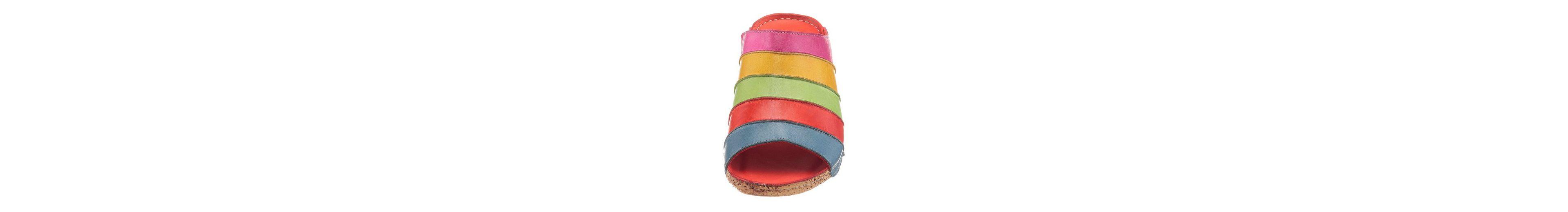 Gemini Keilpantolette, mit modischem Farbverlauf