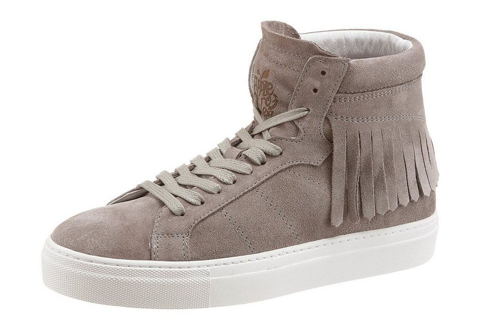 Apple of Eden »POKA« Sneaker mit Fransen in taupe