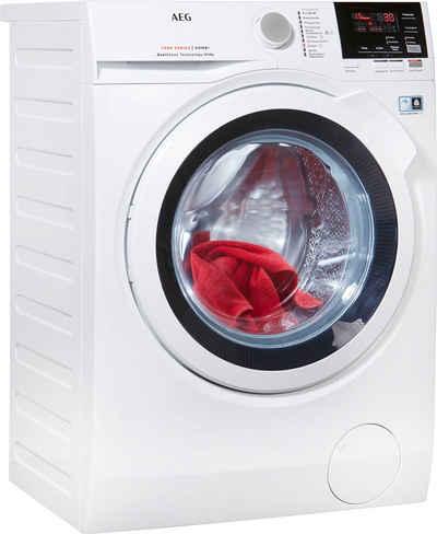AEG Waschtrockner L7WB58WT, 8 kg, 4 kg, 1550 U/min, mit DualSense für schonende Pflege, 4 Jahre Herstellergarantie