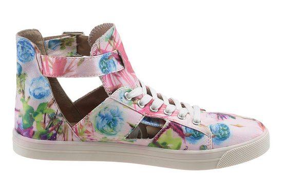 Blumenprint Arizona Sneaker Sneaker Arizona Mit Mit Trendigem SFZqn