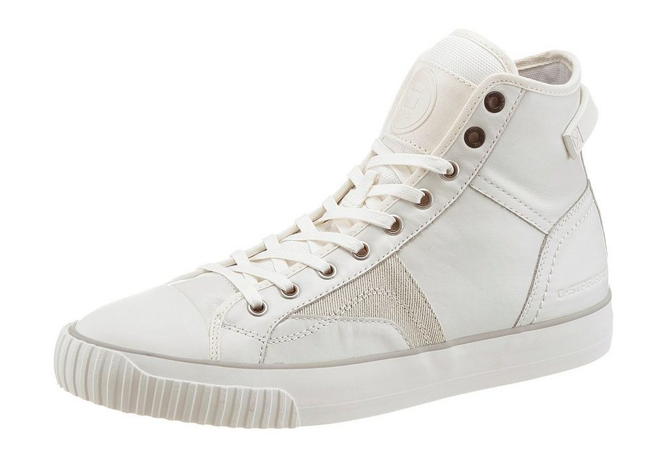 G-Star »Campus Scott Raw High« Sneaker in weiß