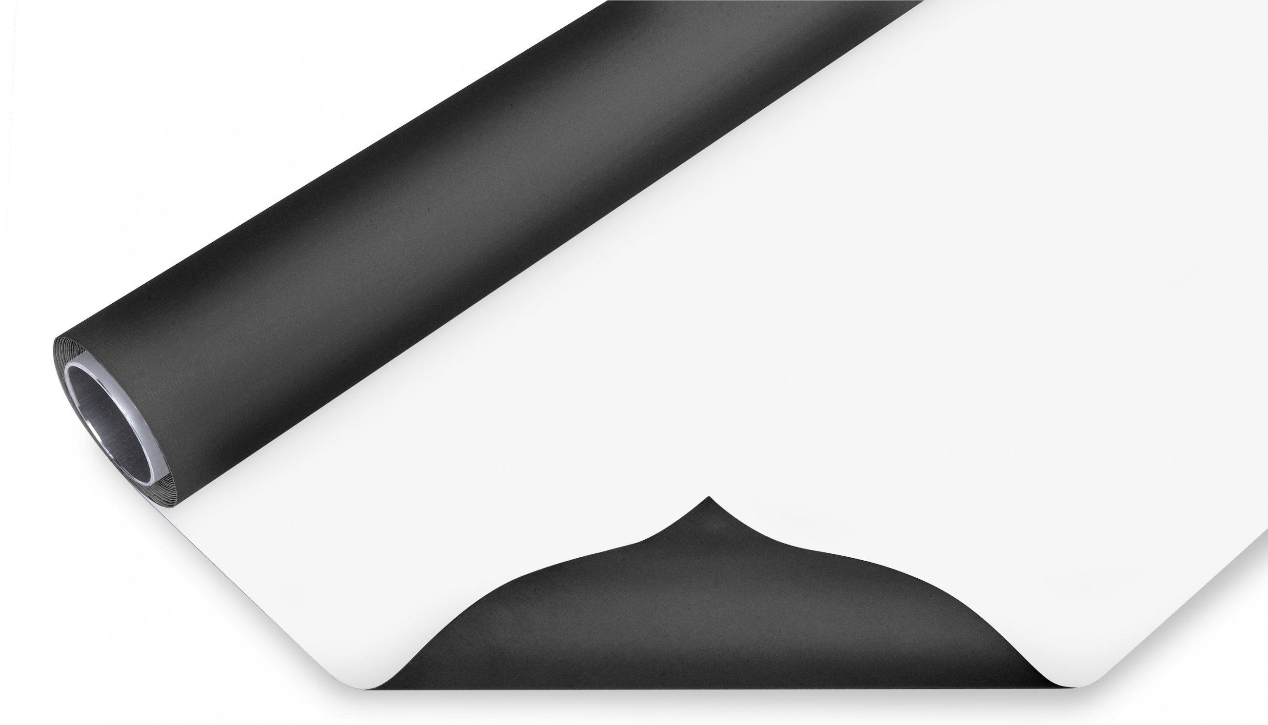 BRESSER Fotostudio »BRESSER Vinyl Hintergrundrolle schwarz/weiß 2x8m«