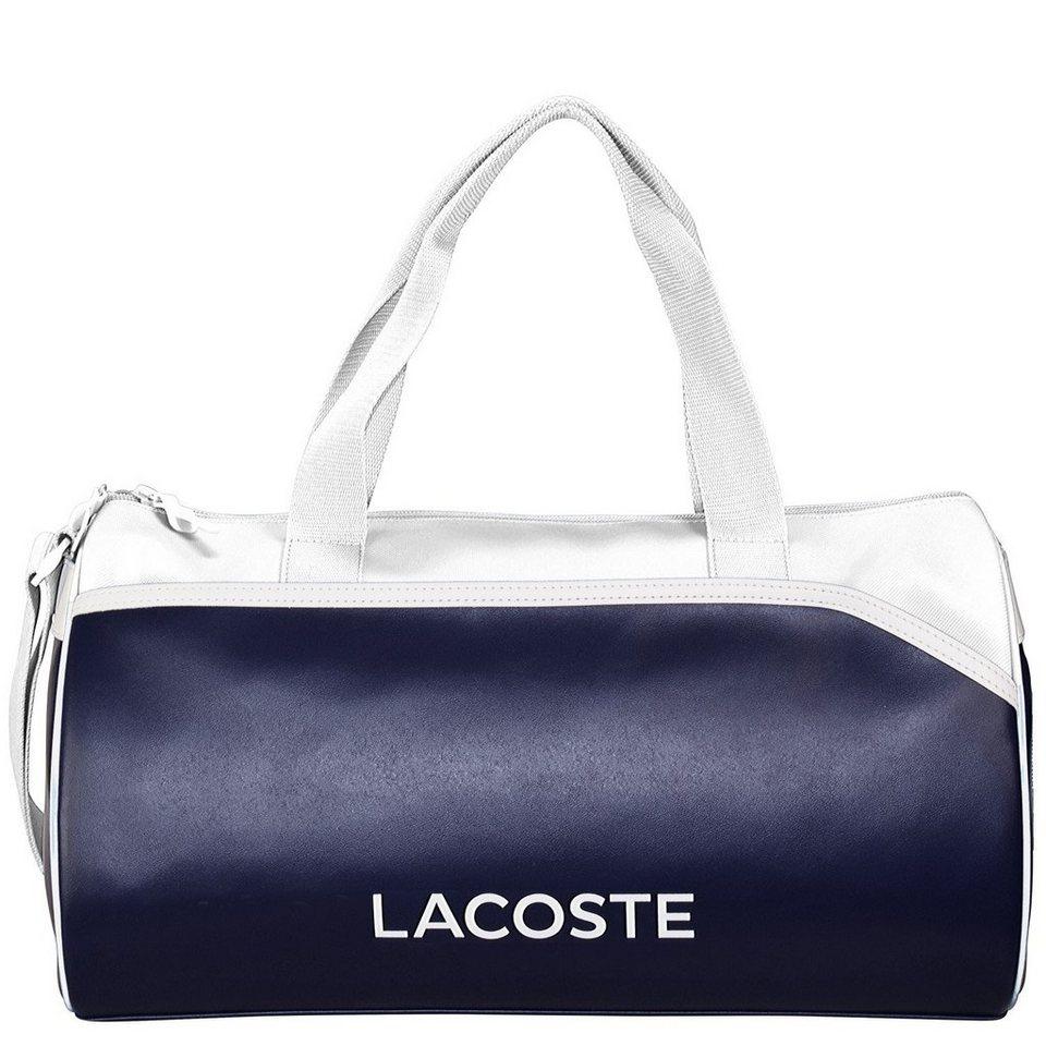 Lacoste Ultimum Sport Reisetasche 43 cm in peacoat white