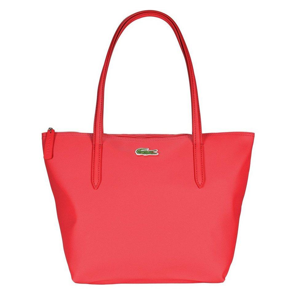 Lacoste L.12.12 Concept Shopper Tasche 24,5 cm in salsa