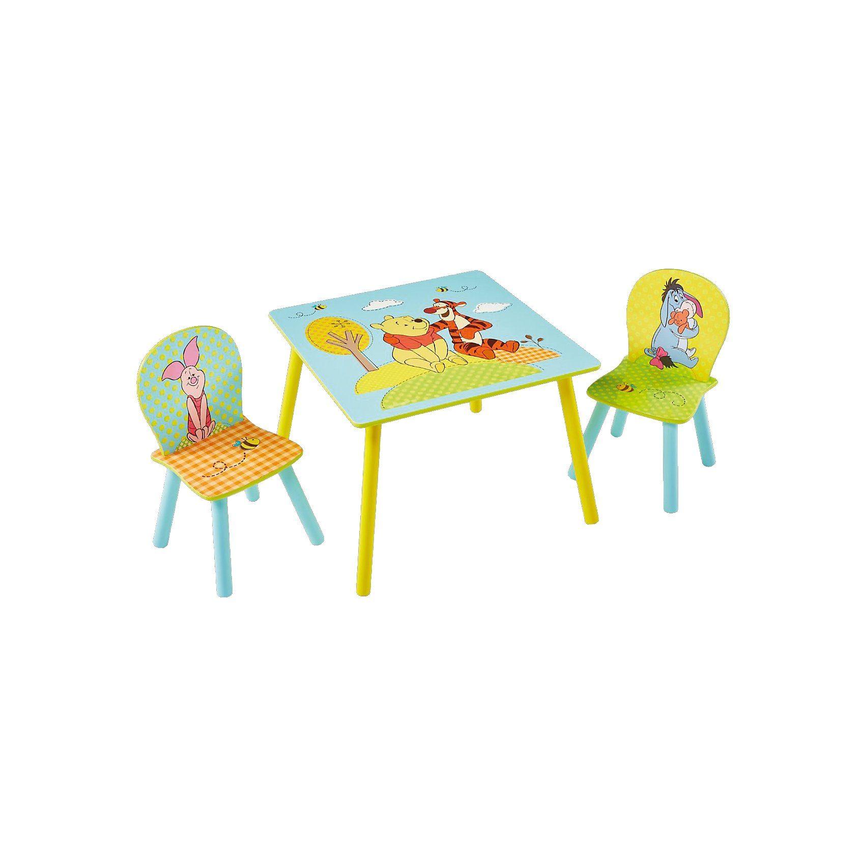 WORLDS APART Kindersitzgruppe 3-tlg., Tigger, Winnie the Pooh