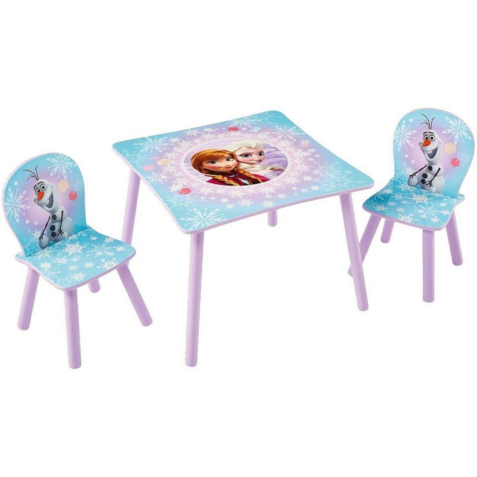 WORLDS APART Kindersitzgruppe 3-tlg., Die Eiskönigin, Elsa und Anna in mehrfarbig