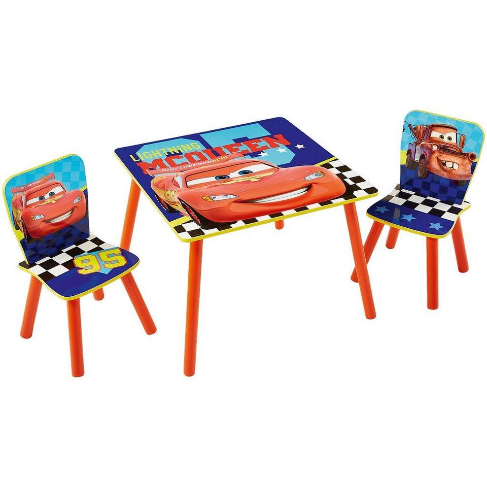 WORLDS APART Kindersitzgruppe 3-tlg., Mc Queen, Cars in mehrfarbig