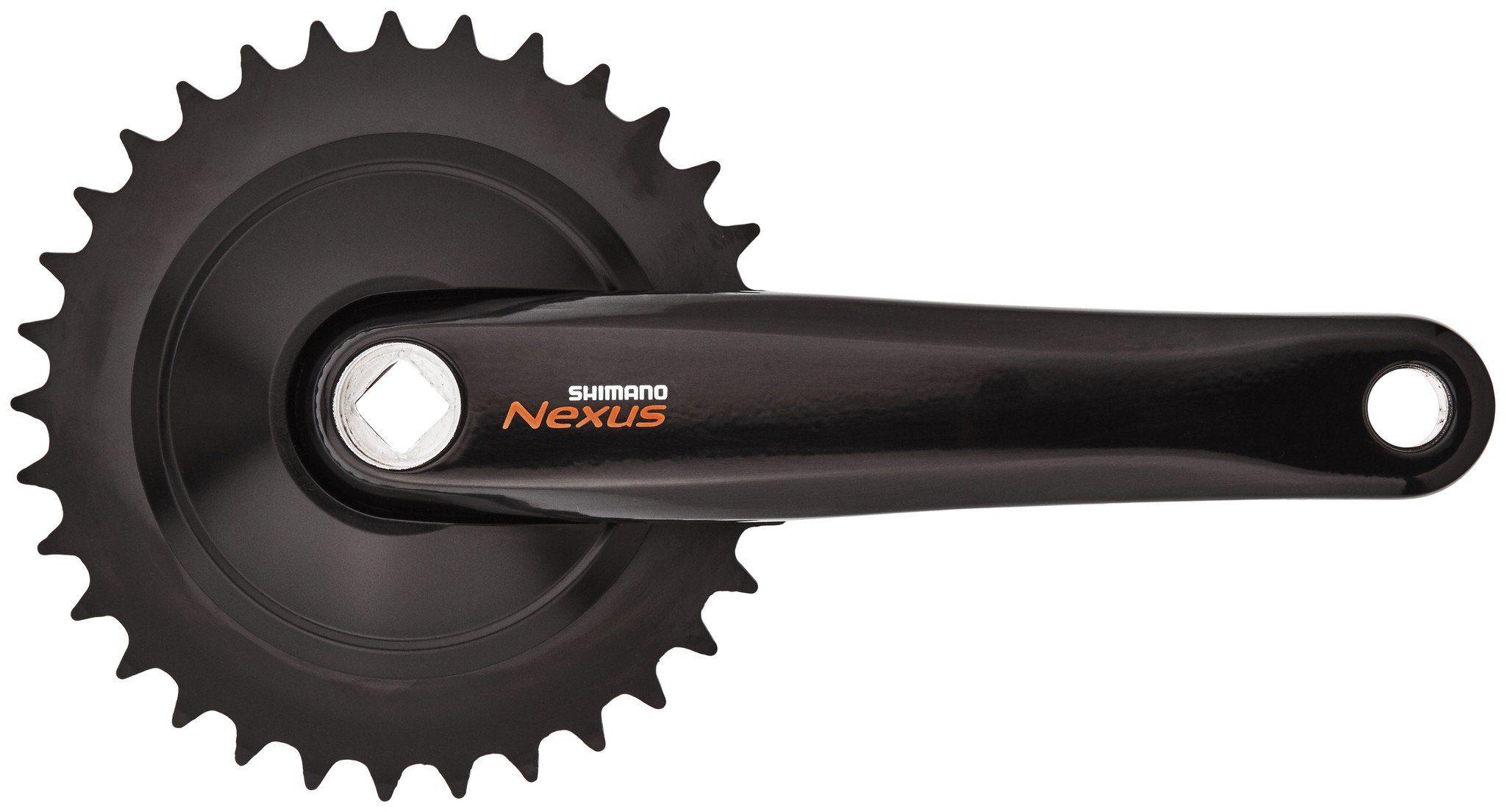 Shimano Kurbel »Nexus FC-C6000 Kurbelgarnitur 33 Zähne«