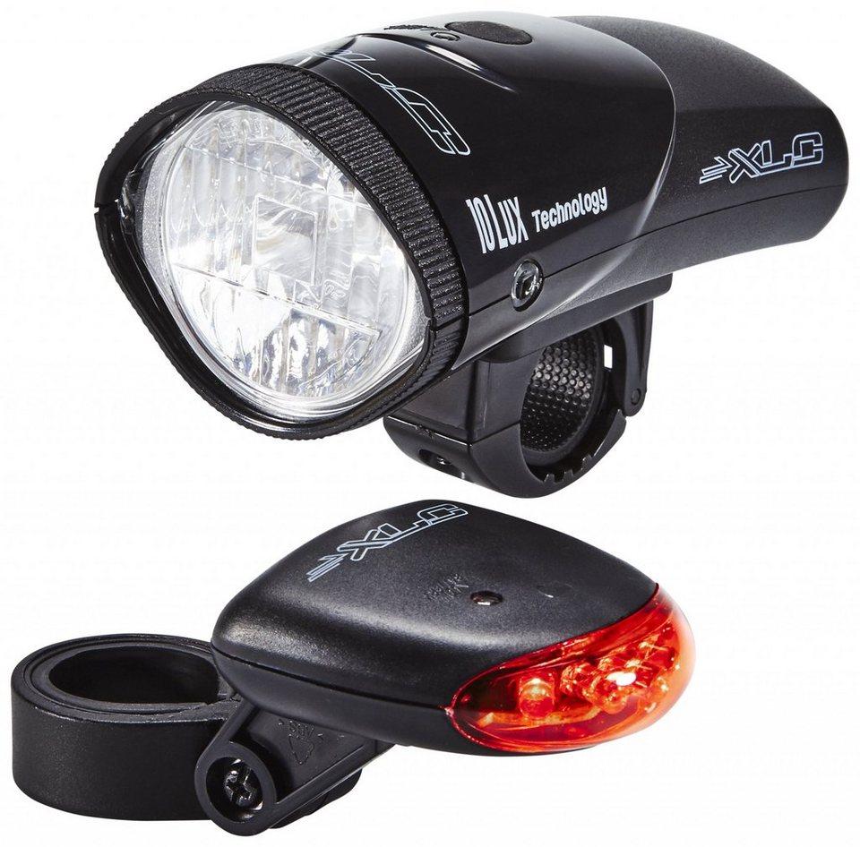 XLC Fahrradbeleuchtung »Krypton CL-S01 Beleuchtungsset 10 Lux«