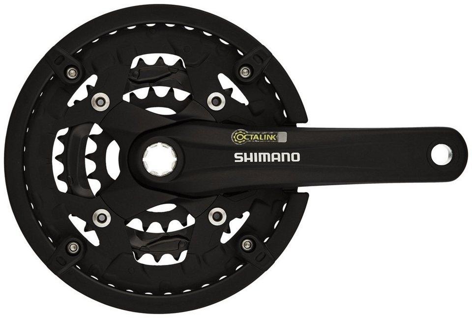 Shimano Kurbel »Alivio FC-T4010 Kurbelgarnitur 44/32/22 KSR«