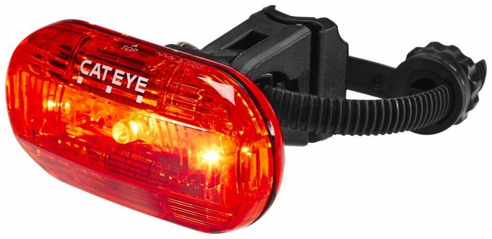 CatEye Fahrradbeleuchtung »TL-LD135G Rücklicht schwarz/rot«