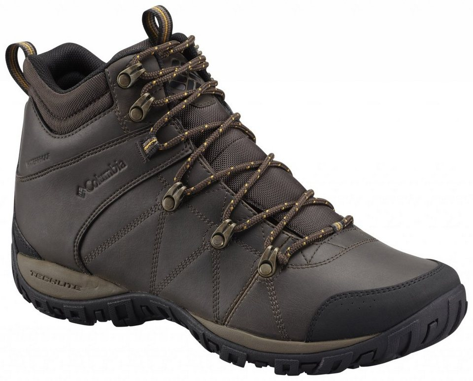 Columbia Kletterschuh »Peakfreak Venture Shoes Men Mid WP Omni-HEAT« in braun