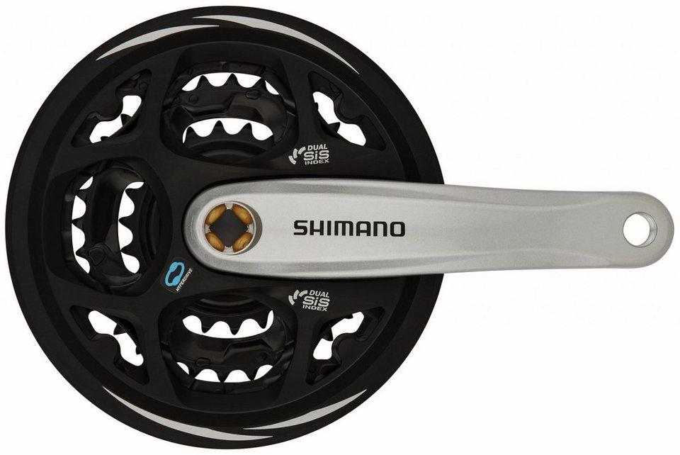 Shimano Kurbel »Altus FC-M311 Kurbelgarnitur 42/32/22«