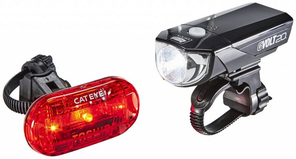 CatEye Fahrradbeleuchtung »GVOLT20/OMNI3G Beleuchtungsset EL350G/LD135G«