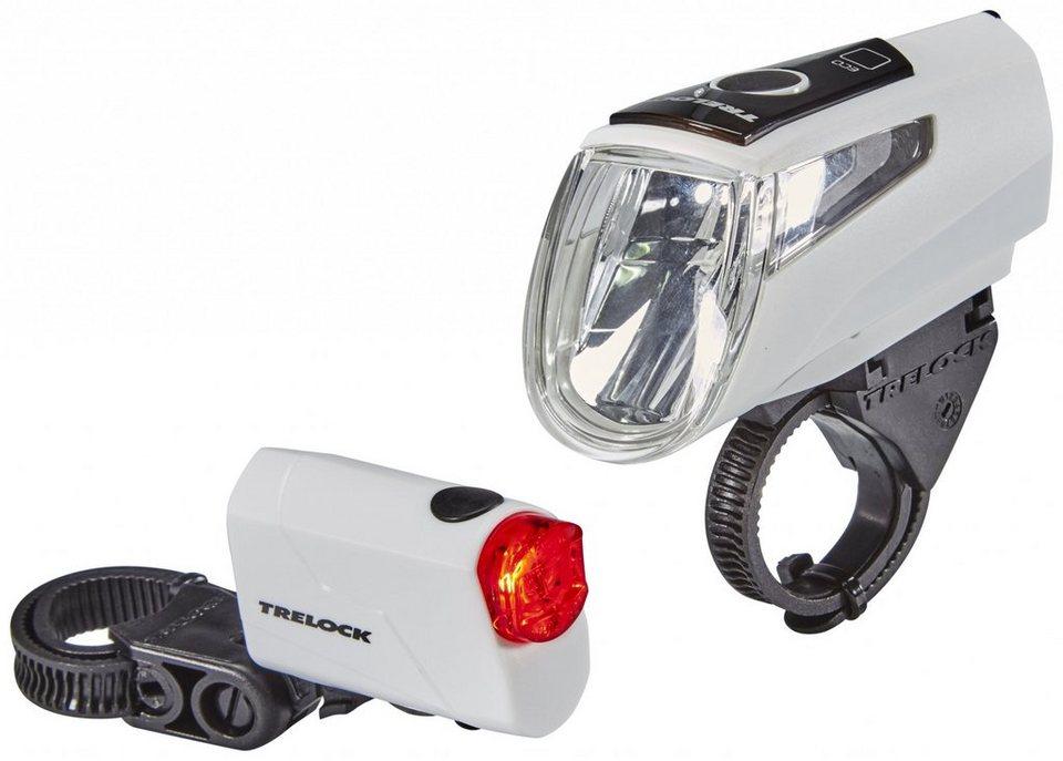 Trelock Fahrradbeleuchtung »LS 460 I-GO POWER+LS 720 Akkubeleuchtung-Set«