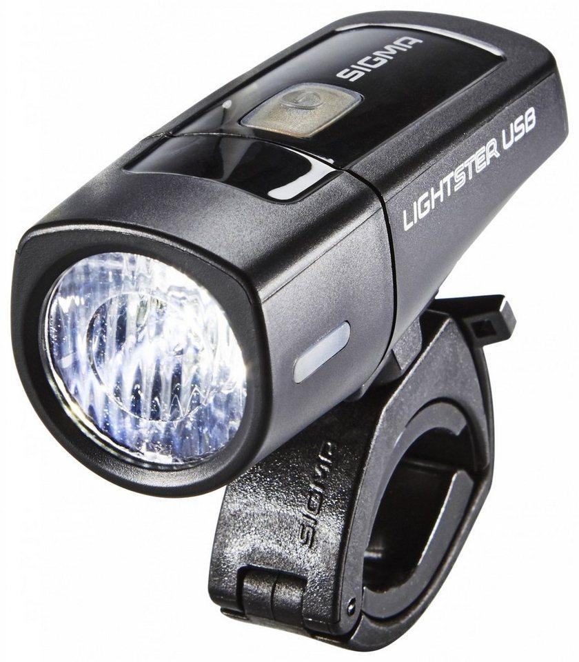 Sigma Sport Fahrradbeleuchtung »Lightster USB LED-Frontleuchte«