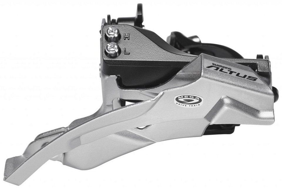 Shimano Schaltung »Altus FD-M370 Umwerfer 3x9-fach Schelle Dual-Pull«