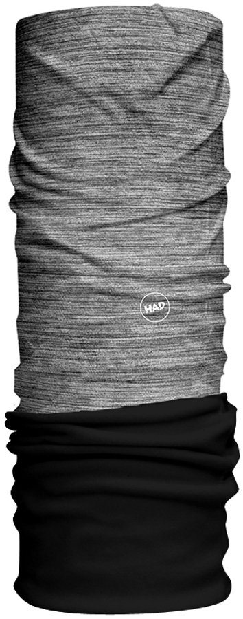 HAD Accessoire »Solid Stripes Fleece Schlauchtuch« in grau