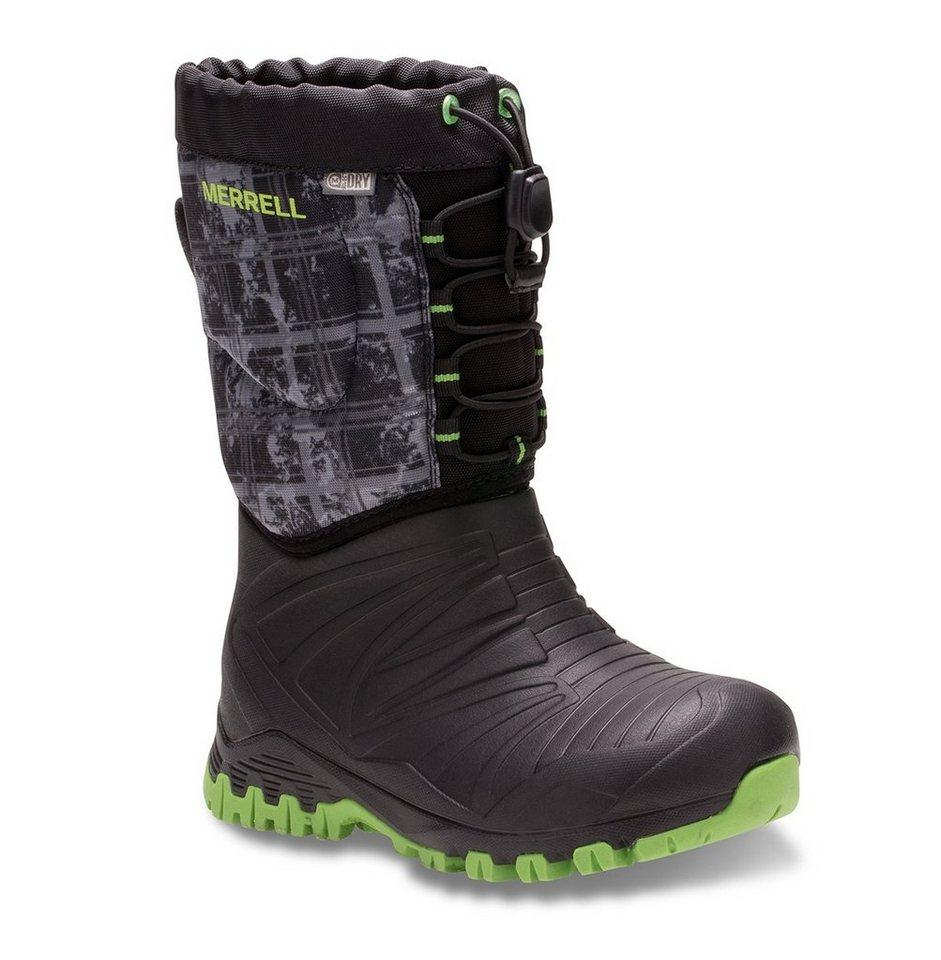 Merrell Stiefel »Snow Quest Lite Waterproof Boots Children« in schwarz