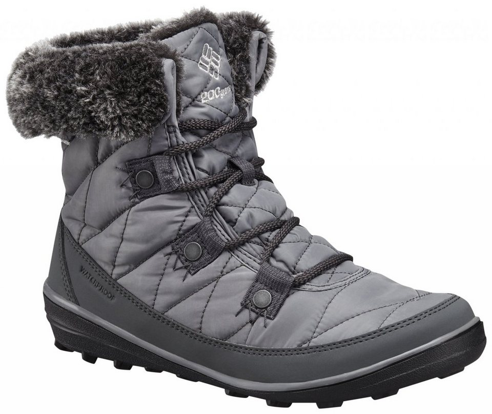 Columbia Kletterschuh »Heavenly Shorty Boots Women Omni-HEAT« in grau
