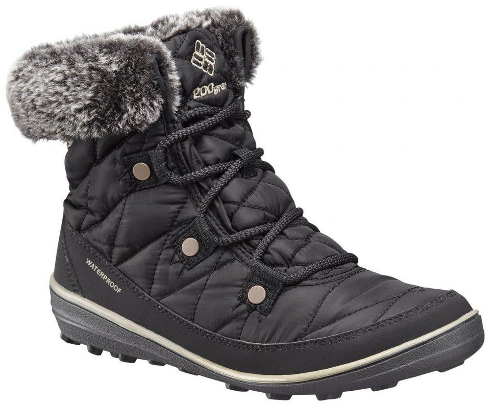 Columbia Kletterschuh »Heavenly Shorty Boots Women Omni-HEAT« in schwarz