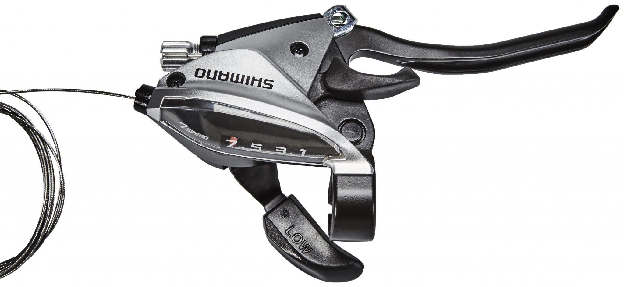 Shimano Schaltung »ST-EF510-4 Schalt-/Bremshebel HR 7-fach«