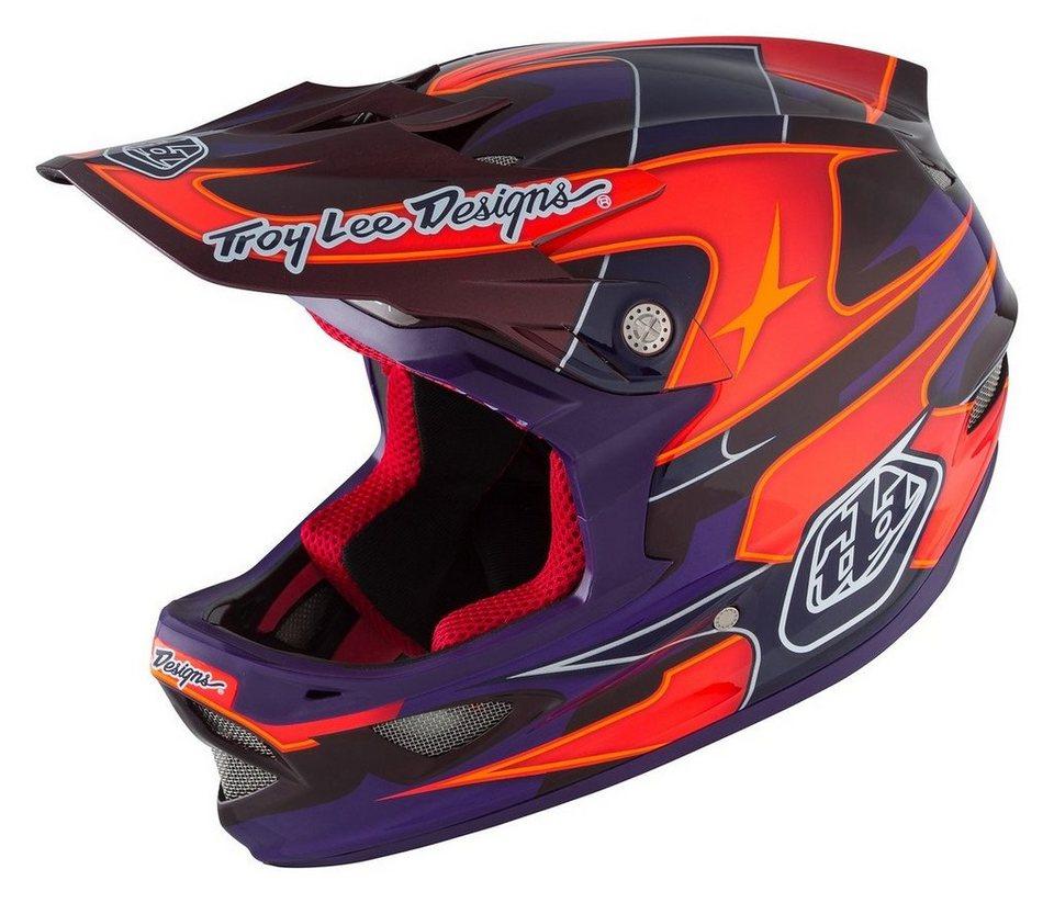 Troy Lee Designs Fahrradhelm »D3 MIPS Helmet« in lila
